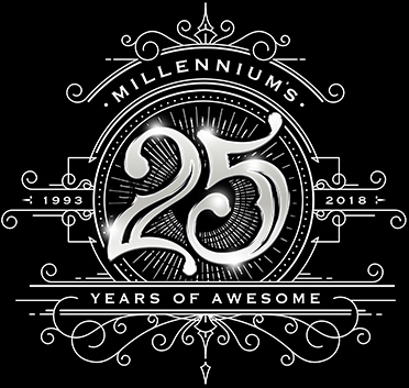 Millennium - 1993-2018 - 25 years of awesome
