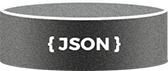 """JSON"" connected to the ""Database"" via ""Drupal 8 RESTful Services"" and ""Drupal 8 Middleware"""